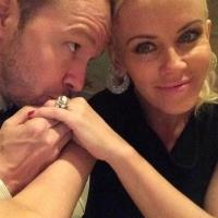 Photo: Jenny McCarthy Tweets First Image of Mr & Mrs Wahlberg!