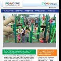 PlayCore Newsletter Promotes Play, Active Behavior, and Programming