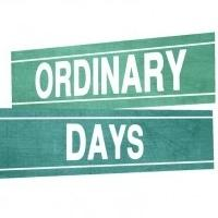 BWW Reviews: ORDINARY DAYS, London Theatre Workshop, March 12 2014