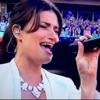 STAGE TUBE: Idina Menzel Belts the National Anthem and 'Forever Young' at MLB All-Star Game!