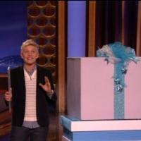 VIDEO: Sneak Peek - Ellen DeGeneres Stops by CONAN With Holiday Goodies