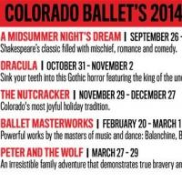 Tickets  for Colorado Ballet's 2014-2015 Season Are On Sale Now