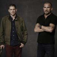Photo Flash: First Look at PRISON BREAK's Wentworth Miller and Dominic Purcell on THE FLASH