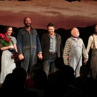 Photo Coverage: James Franco, Chris O'Dowd & OF MICE AND MEN Company Take Opening Night Bows!