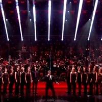 STAGE TUBE: Michael Ball Performs 'Love Changes Everything' at 2013 Olivier Awards