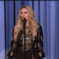 VIDEO: Madonna Makes Her Stand-Up Debut on TONIGHT SHOW