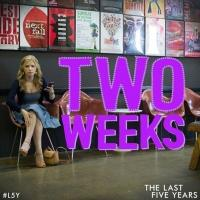 Theatrical New 'Two Weeks' Social Media Reminder For THE LAST FIVE YEARS Movie