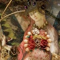 Cindy La Ferle Takes First Prize at Anton Art Center's Michigan Annual XLI for Mixed-Media Art Piece FAIRY TALE
