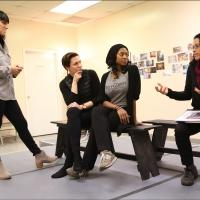 Photo Flash: In Rehearsal with BRIGHT HALF LIFE at Women's Project Theater