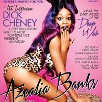 Azealia Banks Reveals Cover For Playboy Magazine