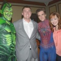 Photo Flash: Medal of Honor Recipient Sergeant Dakota Meyer Visits SPIDER-MAN