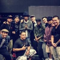 Photo Flash: Jabbawockeez Performs with Pharrell at Coachella