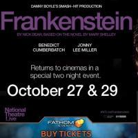 Benedict Cumberbatch & Johnny Lee Miller bring Frankenstein to life on the big screen