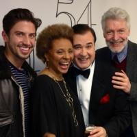 Photo Flash: Nick Adams, Marilyn Maye & More Visit Lee Roy Reams at 54 Below