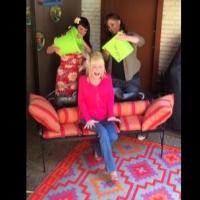 STAGE TUBE: Country Star Dolly Parton Does the Ice Bucket Challenge