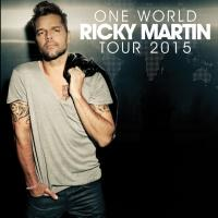 Ricky Martin Sets North American Dates for ONE WORLD TOUR; New Album Out Tomorrow