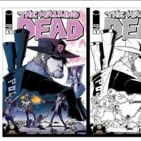 Rob Guillory Variant Cover of Robert Kirkman's The Walking Dead #1 Debuts at Wizard World Austin Comic Con