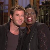 VIDEO: Chris Hemsworth & Leslie Jones Promo This Week's SNL