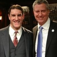 Photo Flash: Mayor Bill de Blasio Visits BILL W. AND DR. BOB