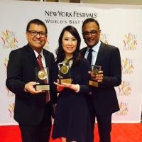 CCTV America Wins Three Medals at New York Festivals International TV & Film Awards