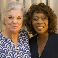 Photo Flash: Alfre Woodard Visits Tyne Daly at Broadway's MOTHERS AND SONS