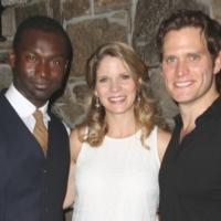 Photo Coverage: FAR FROM HEAVEN's O'Hara & Pasquale Celebrate Opening Night!