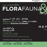 FLORA, FAUNA & FORM On View 4/17-21 at the HATBOX in NYC