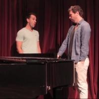 STAGE TUBE: Michael Hughes and Brent Thiessen in Rehearsal for Soulpepper's A COUPLE OF SWELLS
