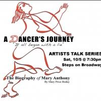Mary Price Boday Set for A DANCER'S JOURNEY Talk, Book Signing, Today