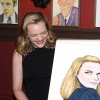 Photo Coverage: Elisabeth Moss Sardi's Caricature Unveiling