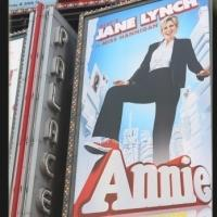 UP ON THE MARQUEE: Jane Lynch Joins ANNIE Tomorrow - See the All-New Poster!