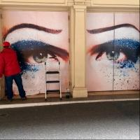 Photo Flash: HEDWIG Star John Cameron Mitchell's Eyes Gaze Out from the Belasco
