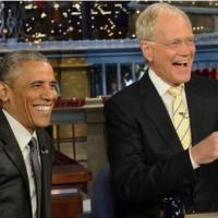 VIDEO: President Obama & David Letterman Talk Retirement Plans on LATE SHOW