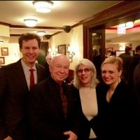 Photo Flash: Haley Swindal and Tom Galantich Visit CHURCHILL at New World Stages Photos