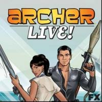 Cast & Producer of FX Series Appears at Bass Concert Hall in ARCHER LIVE! Tonight