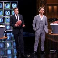 VIDEO: Matthew McConaughey Plays 'Facebreakers'; Talks INTERSTELLAR on 'Tonight'!