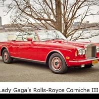 LADY GAGA's Rolls-Royce Corniche Set for Julien's Auction