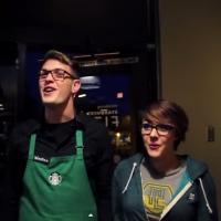 VIDEO: Watch New FROZEN-Starbucks Crossover Parody 'Love is an Open Store'