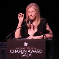 Barbra Streisand Presents Chaplin Award to Robert Redford at Film Society of Lincoln Center Gala Tonight