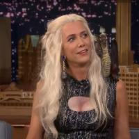 VIDEO: Jimmy Interviews 'Game of Thrones' Khaleesi (Kristen Wiig) on TONIGHT!