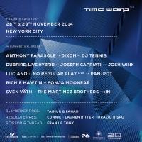 TIME WARP U.S. Announces Additional Artists!