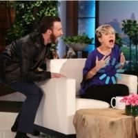 VIDEO: Sneak Peek - Chris Evans Pays Scarlett Johansson Surprise Visit on Today's ELLEN!