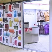 UNIQLO Opens a Pop-Up Shop in New York's Union Square Subway Station