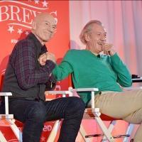 VIDEO: Ian McKellen and Patrick Stewart Talk Broadway, Online Antics