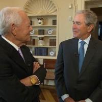 President George W. Bush to Talk Saddam Hussein & More on CBS SUNDAY MORNING