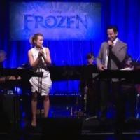 VIDEO: FROZEN's Kristen Bell and Santino Fontana Perform 'Love Is an Open Door' Live in LA