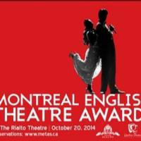 2014 Montreal English Theatre Award Nominees Announced; Ceremony Set for Oct 20