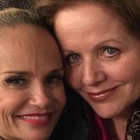 Renee Fleming Visits Kristin Chenoweth Backstage At ON THE TWENTIETH CENTURY