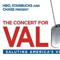 THE CONCERT FOR VALOR to Be Delivered Vis Multiple Distribution Channels