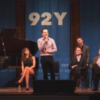 Photo Flash: Jason Robert Brown and the Cast of HONEYMOON IN VEGAS at 92Y